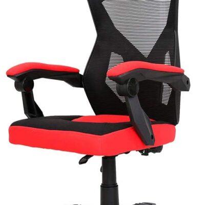 Cadeira Gamer Ergonômica Gear Preto e Vermelho